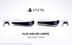 PlayStation 5 Digital Version (left) PlayStation 5 Standard Version (right)