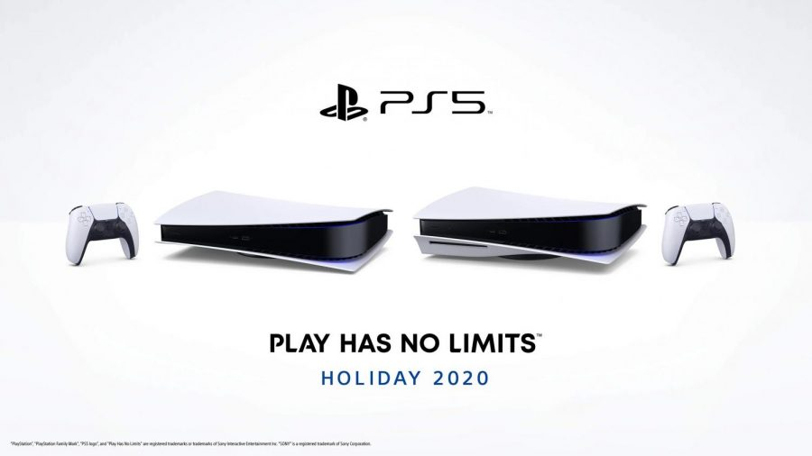 PlayStation 5 Digital Version (left) PlayStation 5 Standard Version (right)