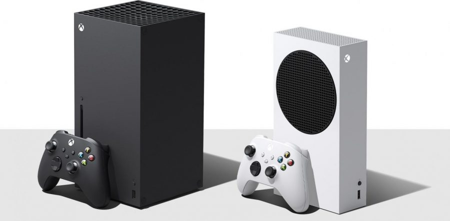 Xbox Series X (left) Series S (right)