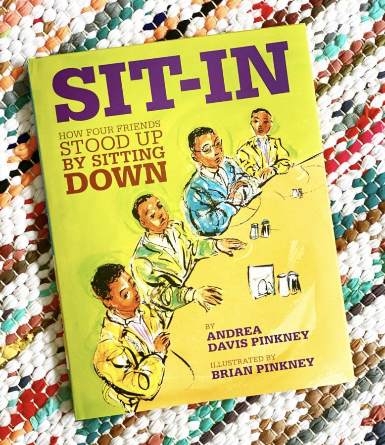 This+week%27s+read-aloud+features+%22Sit+In%3A+How+Four+Friends+Stood+Up+by+Sitting+Down%22+by+Andrea+Pinkney.+%28photocourtesy+of+Brave+and+Kind+Books%29