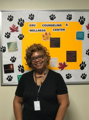 GSU social worker Angela Johnson